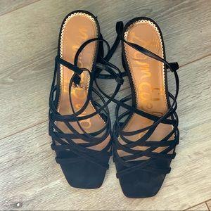Black Sam Edelman Strappy Heels